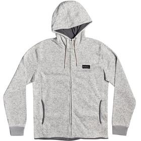 Quiksilver Keller Zip Top In Pile Con Cerniera Uomo, light grey heather
